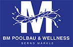 BM Poolbau + Wellness Logo